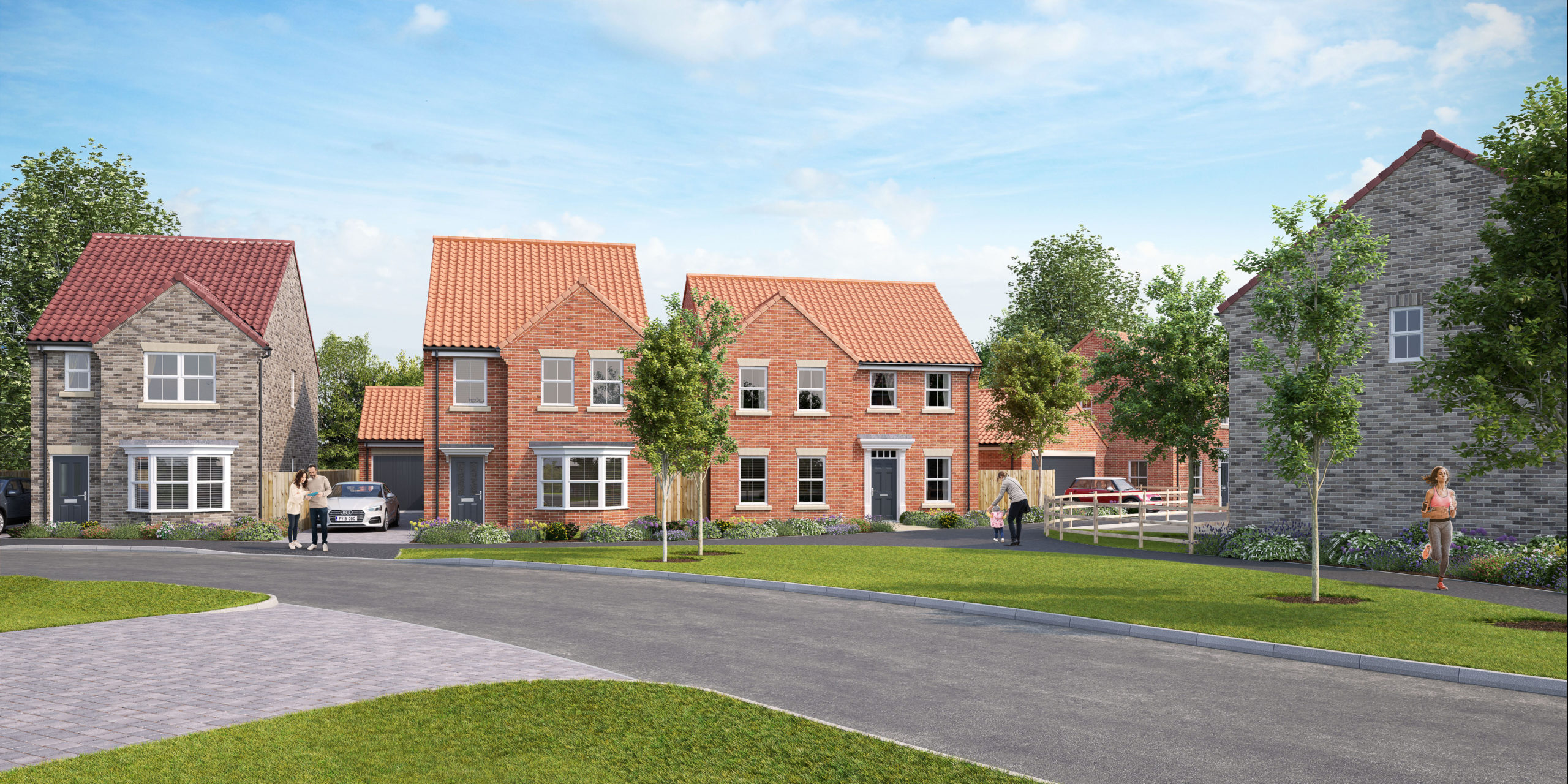 Peter Ward Homes moves onto new Lincolnshire site
